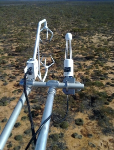 Eddy Covariance: one way to obtain data on latent energy. My old site at Calperum, SA